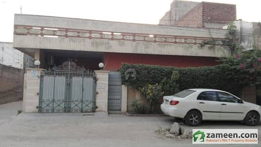 Corner Residential House, Commercial Area For Sale - 11 Marla
