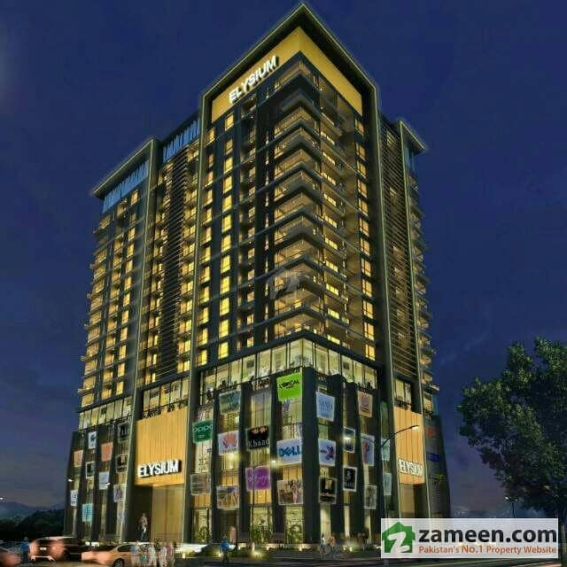 2 Bed Flat On Easy Installments In Elysium Tower Blue Area Front Of Centaurus And Pims Hospital