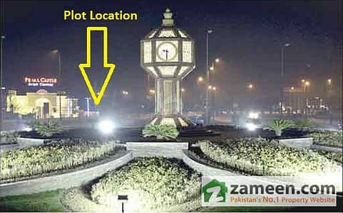 23 Marla Corner Commercial Plot For Sale Nawaz Sharif Interchange
