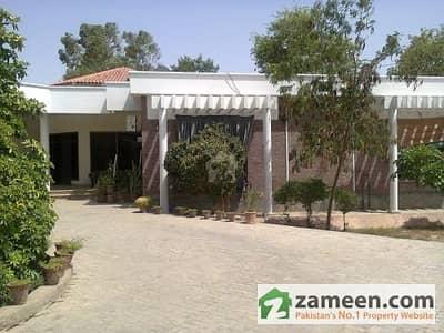 6 Kanal Farm House For Sale - 27000 Sqft