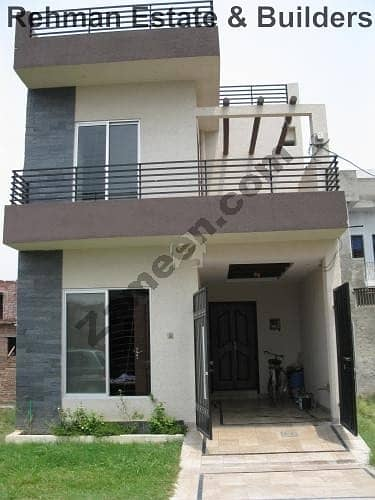 Brand New 3 Marla House For Sale Pak Arab Housing Society, Lahore