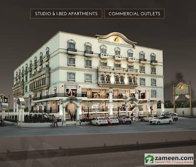 Studio Apartment For Sale In Express Mall  Residency