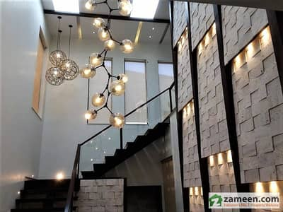 1 Kanal Brand New Extra Land Most Elegant House