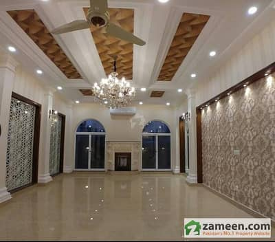 9 Marla Brand New Double Unit Out Class Modern Luxury Bungalow For Rent In State Life Housing Society Phase I