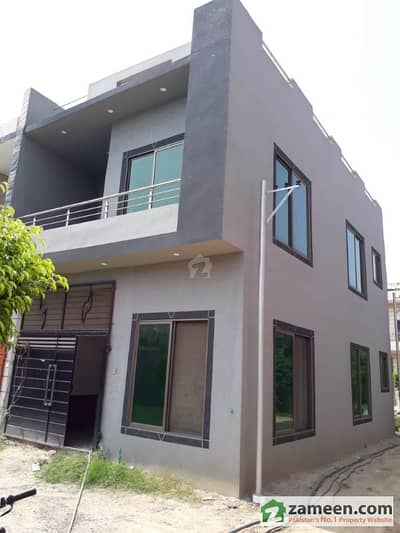 3 marla Corner Brand New House Is Available For Sale