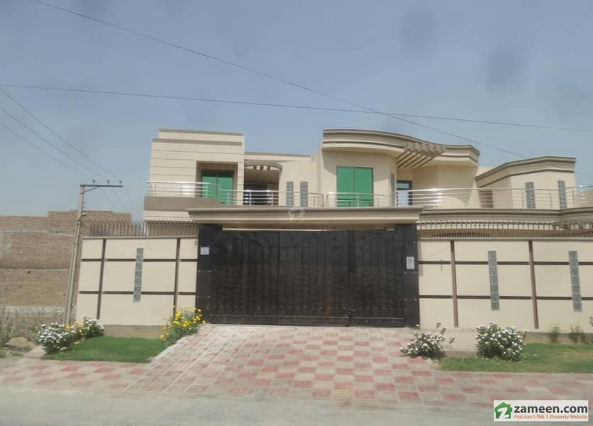 8. 5 Marla Corner Double Storey House For Sale