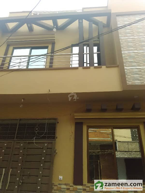 3 Marla Corner Double Story Beautiful Architect Home available at Samanbad lhr