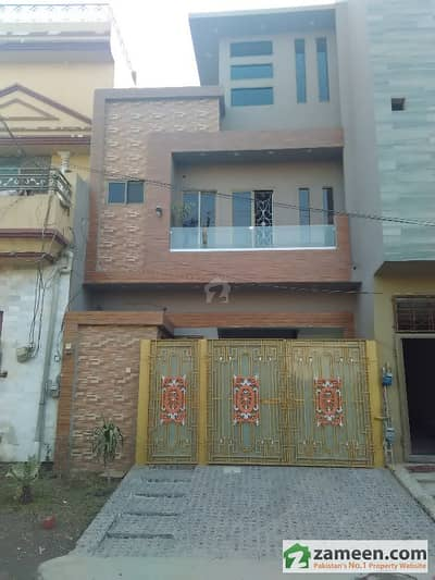 4 Marla Triple Storey Beautiful Architecture  Engineering House 50 Ft Street At Samanabad