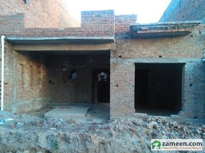 6 Marla Under Construction House For Sale