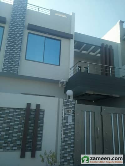 6 Marla Double Storey Brand New Beautiful Furnished House For Sale