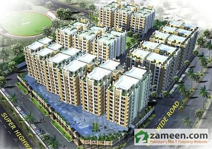 Flat For Sale In Abdullah Sports Towers
