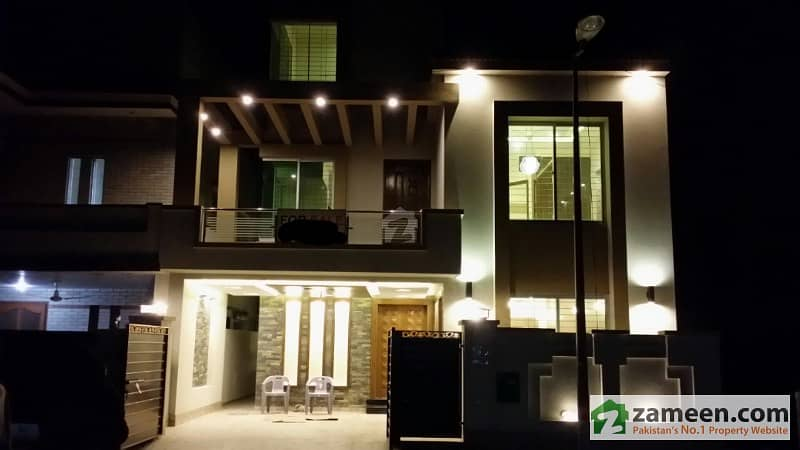 8 marla brand new beautiful VIP House for VIP People in Bahria Town Lahore