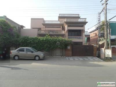 Double Storey Beautiful Corner Bungalow For Sale At Nawab Colony, Okara