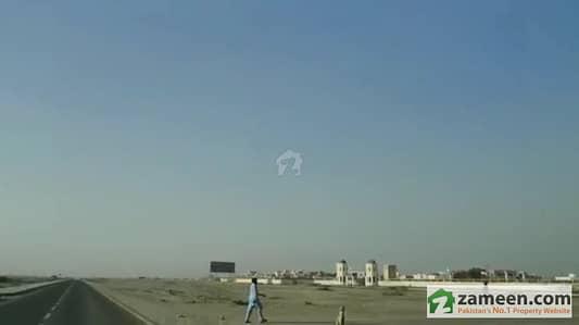 Commercial Land For Urgent Sale Jinnah Avenue Gwadar