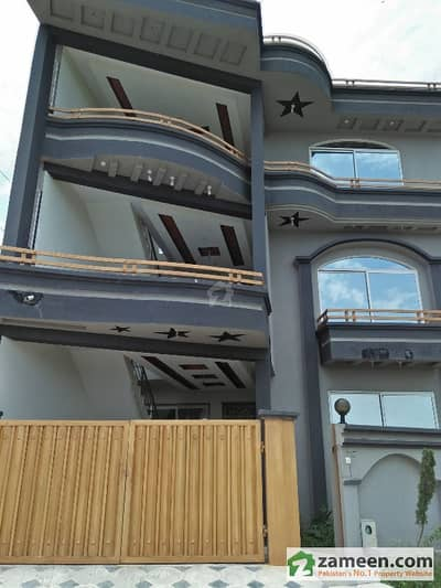 550 Marla Double Storey 2 Unit House For Sale In Gulriaz Colony Rawalpindi