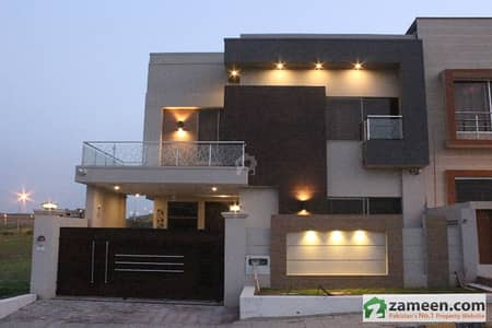 10 Marla Brand New Owner Built House Furnished With Basement For Sale In Bahria Town Phase 8