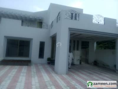 1 Kanal Outclass House In Canal View Situated At Main Canal Road For Silent Office At Prime Location