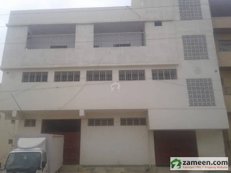 500 Yards Commercial Upper Portion Available For Rent At Korangi Mini Industrial Area