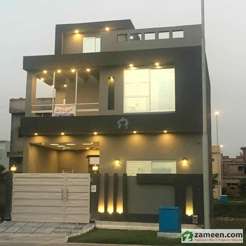5 Marla House In Parkview Villas Housing Society Lahore