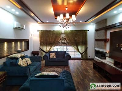 100% Original Pictures 1 Kanal Brand New Mazher Muneer  Design Bungalow For Rent In Dha Phase V