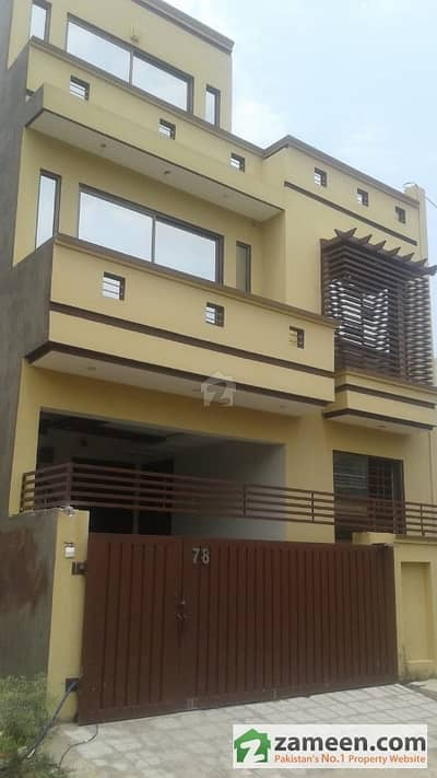 4. 5 Marla Triple Storey House Available For Sale Paris City Block F Sector H-13 Islamabad