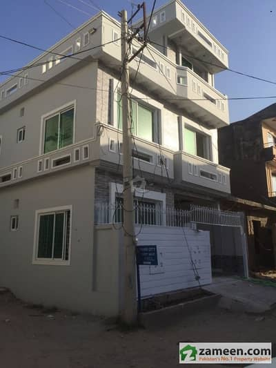 4 Marla Triple Storey Corner House Available For Sale Paris City Block E Sector H13 Islamabad