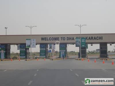 Dha City Karachi - Plot For Sale In Sector 6A