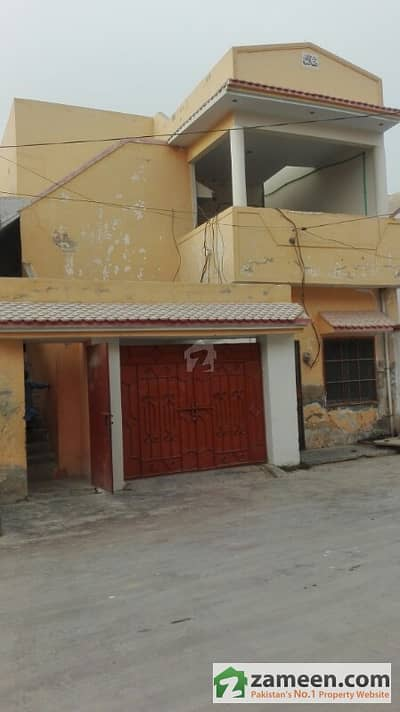 Ground +1 House For Sale In A Gated Community - Qasim Town