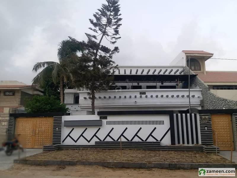 Brand New Luxury Double Storey House For Sale 370 Sq Yard Block B