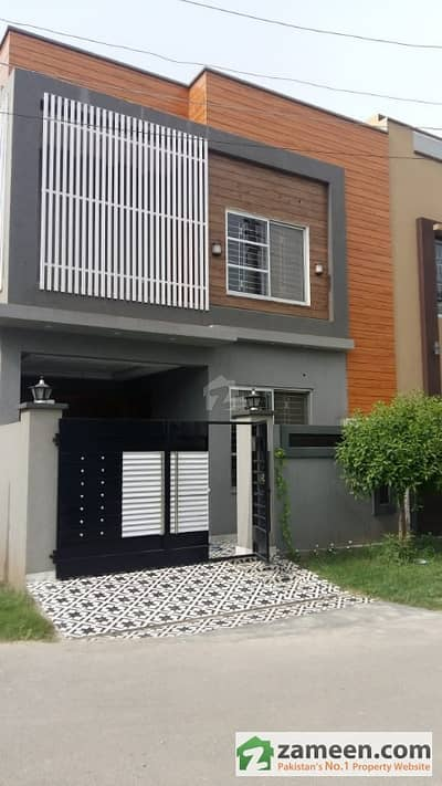 5 Marla Corner Beautiful House For Sale In Canal Garden