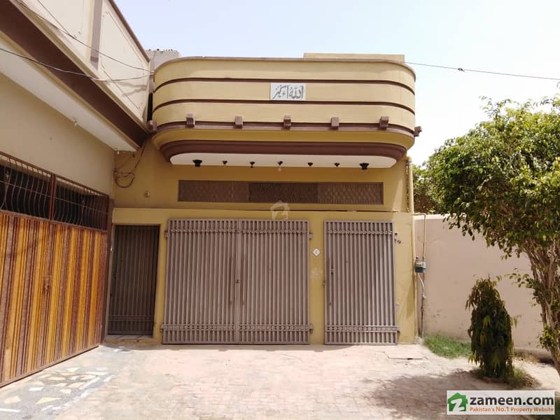 12 Marla Single Storey House For Sale