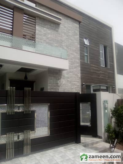 10 Marla Brand New Double Storey House Is Available For Sale In EME Society Block J