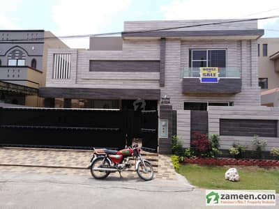 1 Kanal Brand New Proper Double Unit Beautiful Modern Luxury Bungalow For Sale In Punjab Cooperative Housing Society