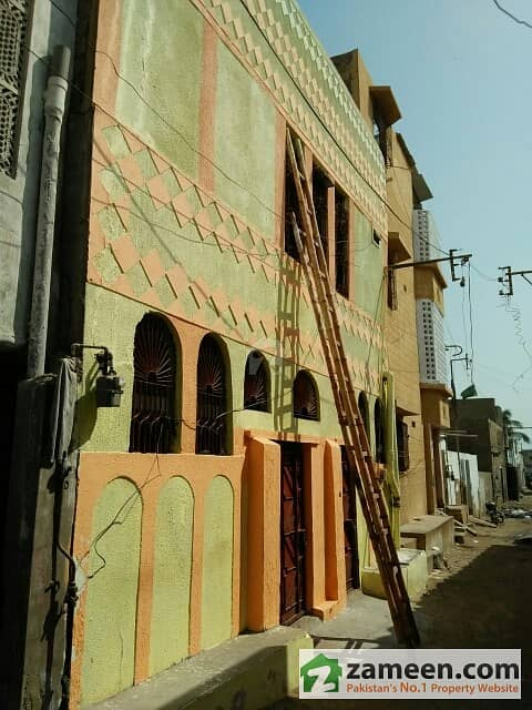 Korangi Sector 48-E - Double Storey RCC House For Rent