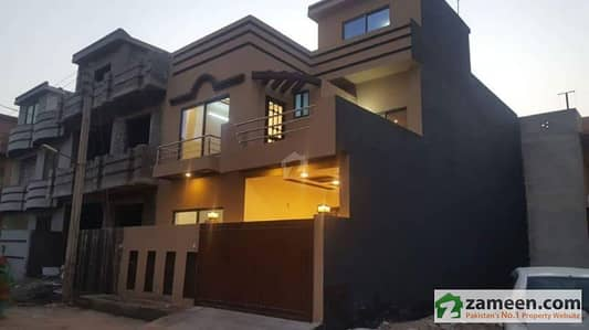 5 Marla Double Story Brand New House For Sale In Qutbal Town