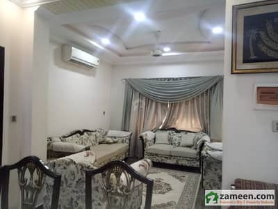 5 Marla Corner with 4marla extra lown  Beautiful  Furnished House Available For Sale