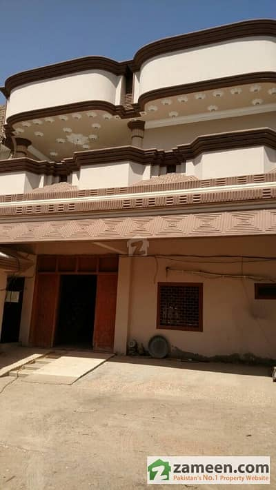 Ground + 2 Floors House For Sale In Qasimabad