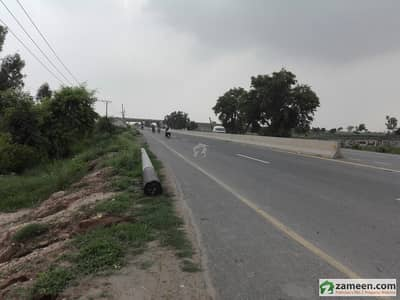 Land As Commercial Use Near Lahore To Karachi Motorway Available For Sale With 53 Feet Front