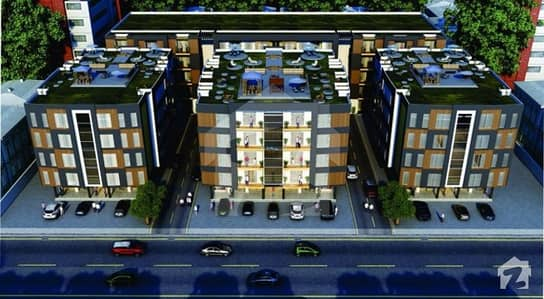 Apartment 2 Bed Room With Bath Room  Tv Lounge In Paradise Apartment Plaza Lda Approved Gajumata Ferozepur Road Lahore