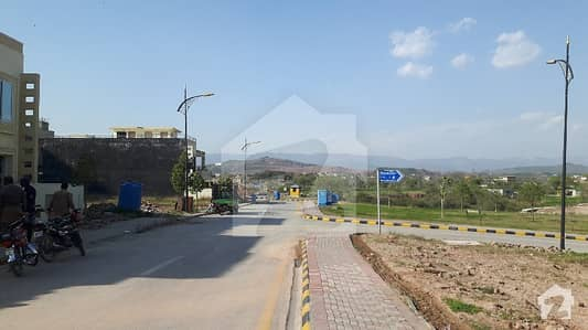 Sector G Street 13 With Extra Land Map Possession Plot Paid Bahria Enclave Islamabad