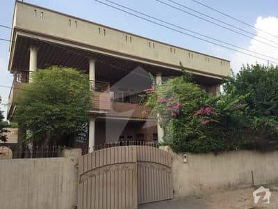 38-B Corner House Fateh Sher Colony With 8. 5 Marlas And With 5 Marla's Of Garden Extra.