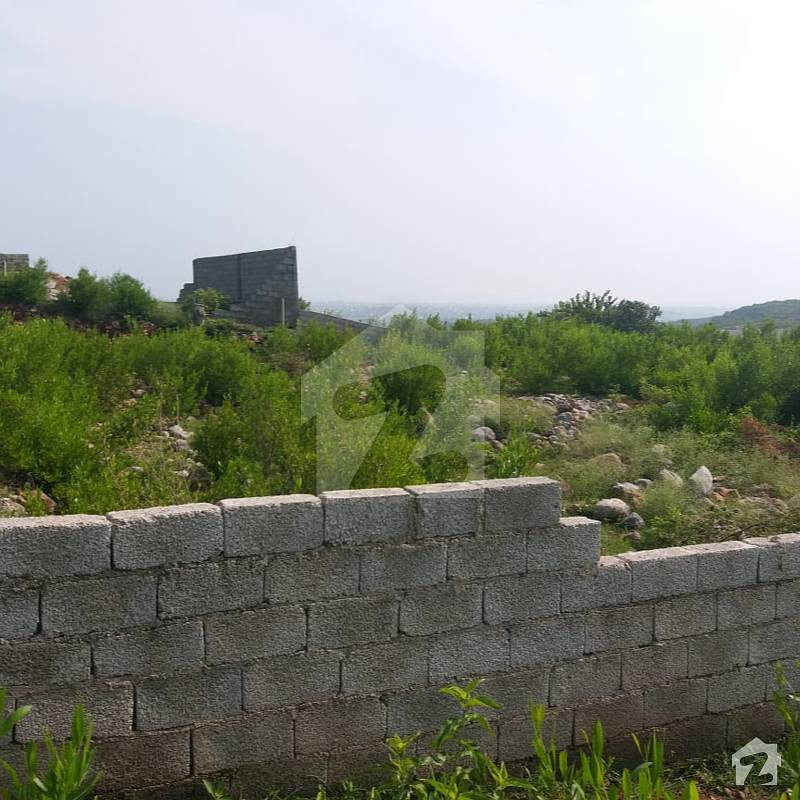 Islamabad Roads: 2 Kanal Residential Plot On Margalla Road Razor Wire Side