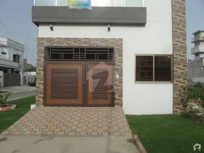 Double Story Brand New Beautiful Corner House For Sale At Green City, Okara
