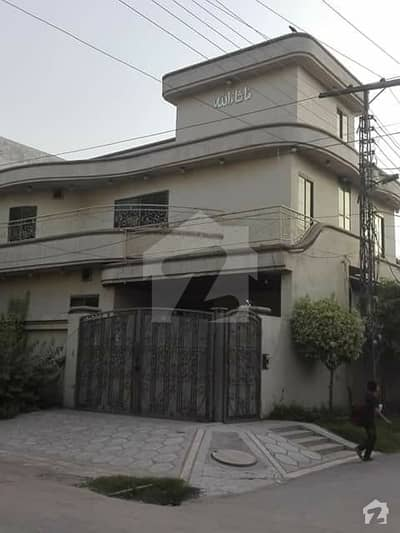 VIP Corner House For Sale In Marghazar Officers Colony
