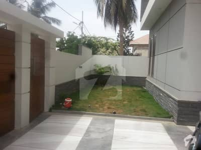 Defence 500 Sq Yard Brand New Bungalow West Open For Sale