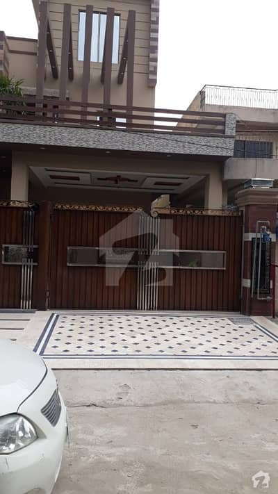 1 Kanal Double Storey Brand New House Is Available For Sale In Revenue Employees Society