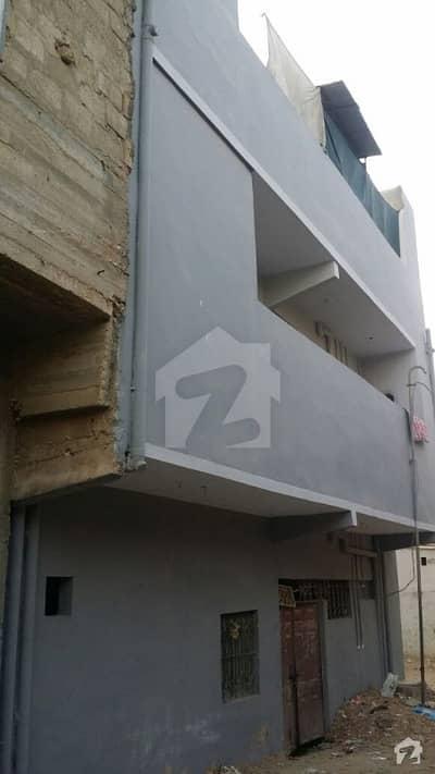 House For Sale Sector 7c North Karachi Ground Plus 2 Rcc