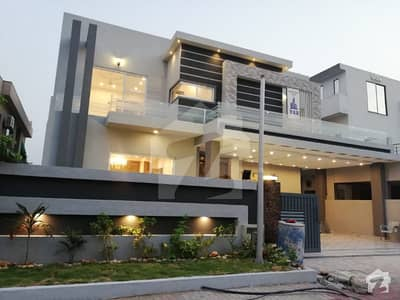 Straight Elevation 1 Kanal Awesome House For Sale In Bahria Town