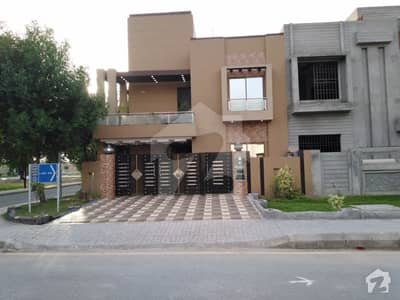10 Marla Brand New Corner House For Sale On 80 Feet Wide Road In Central District