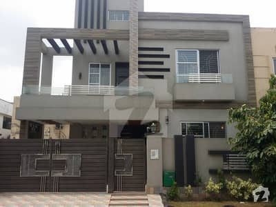 10 Marla Brand New Solid Double Storey House With Sui Gas For Sale In Shaheen Block Sector B Bahria Town Lahore